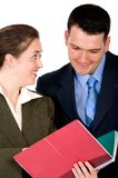 Partners at the office Stock Images