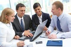 Partners at work Stock Photos