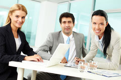Partners at work Royalty Free Stock Photography