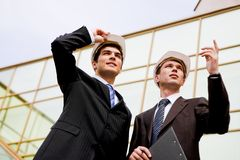 Partners at work Royalty Free Stock Photo