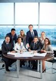 Partners at workplace Stock Image