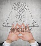 Partnerschaftshände Lizenzfreie Stockfotos