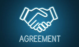 Partnership Agreement Cooperation Collaboration Concept.  Stock Image