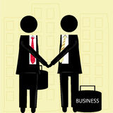 Partnership in business Royalty Free Stock Images