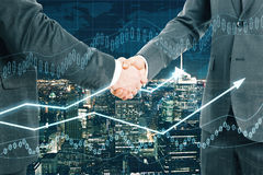 Partnership concept Royalty Free Stock Photo