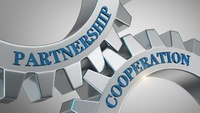 Partnership cooperation concept stock image