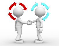 Partnership royalty free illustration