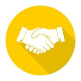 Partnership icon. Simple vector icon Royalty Free Stock Photography