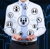 Partnership icons Stock Images