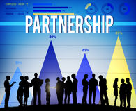 Partnership Partner Collaboration Teamwork Support Concept Stock Photo