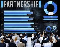 Partnership Partner Team Teamwork Organization Concept Royalty Free Stock Photography