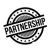 Partnership rubber stamp Royalty Free Stock Images