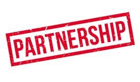 Partnership rubber stamp Royalty Free Stock Photos