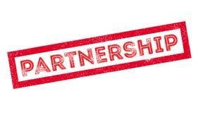 Partnership rubber stamp Stock Photos