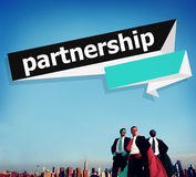 Partnership Teamwork Team Building Organazation Concept Royalty Free Stock Photos