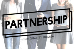 Partnership Together Collaboration Teamwork Concept Royalty Free Stock Photos
