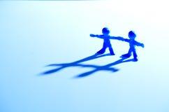 Partnerskap Arkivfoton