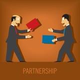 partnerskap Arkivbilder