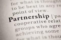 partnerskap Arkivbild