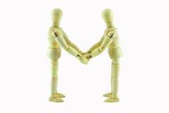 partnerskap för överenskommelseaffärshandskakning Fotografering för Bildbyråer