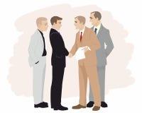 Partnerskap i affär Arkivbild