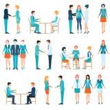 Partnerstw ludzie biznesu royalty ilustracja