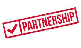Partnerstwo pieczątka ilustracja wektor