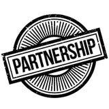 Partnerstwo pieczątka ilustracji