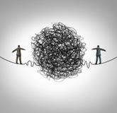 Partnerstwo problem ilustracji