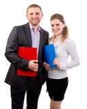 Partnery biznesowy Obraz Royalty Free