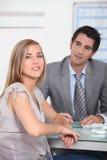 Partnery biznesowy Obrazy Royalty Free