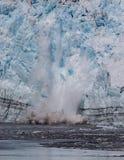 Parto da geleira de Hubbard Imagens de Stock