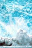 Parto del ghiacciaio di Holgate, parco nazionale dell'Alaska, fiordi di Kenai, nea Fotografia Stock Libera da Diritti