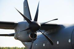 Parts of aircraft Stock Image