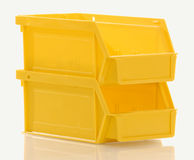 Parts bins Royalty Free Stock Photography