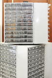 Parts Cabinet Royalty Free Stock Photos