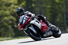Parts Canada Superbike Championship (Practice) May Royalty Free Stock Images