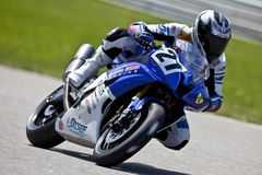 Parts Canada Superbike Championship (Practice) May Royalty Free Stock Photos