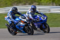 Parts Canada Superbike Championship (Round 1) May Royalty Free Stock Images