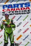 Parts Canada Superbike Championship (Round 1) May Stock Image