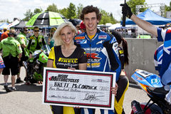 Parts Canada Superbike Championship (Round 1) May Stock Images