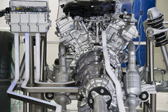 Parts of car engine Stock Photography