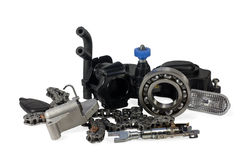 Parts for cars. Stock Images