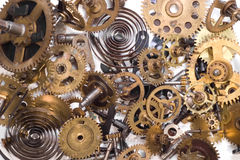 Parts of  clock Royalty Free Stock Photos