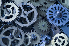 Parts of clock Stock Photography