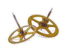 Parts of clockwork Royalty Free Stock Photo