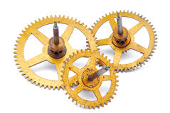 Parts of clockwork Stock Image