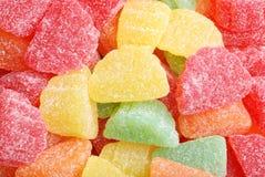 Parts colorées assorties de fruit Photographie stock libre de droits