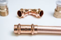 Parts of copper Stock Images
