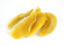 Parts déshydratées de mangue photos stock